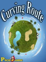 Curving Route Mobile Game